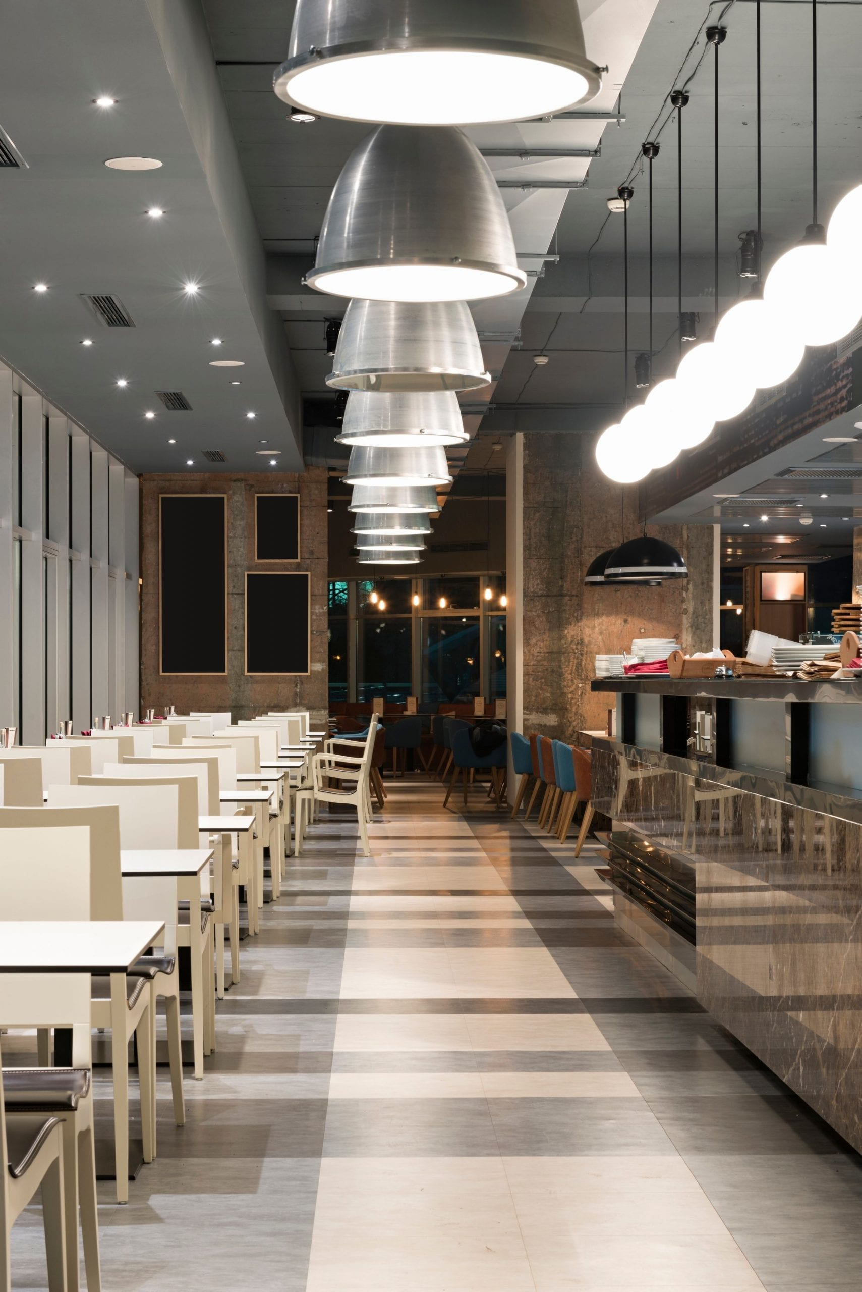 Restaurant LED Lighting - AFS Electrical Services