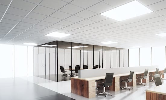 Office LED Lights - AFS Electrical Services