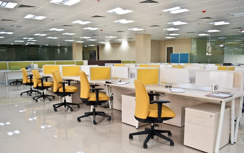 call centre LED lighting - Glasgow - AFS Electrical
