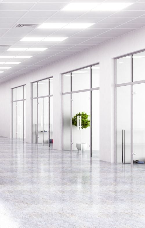 LED Lighting Offices - AFS Electrical Services - Glasgow & Edinburgh