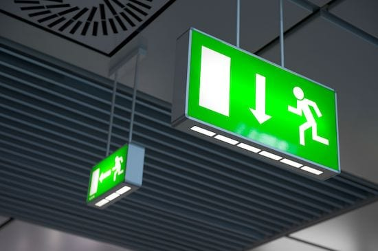 warehouse emergency lighting - AFS Electrical Services