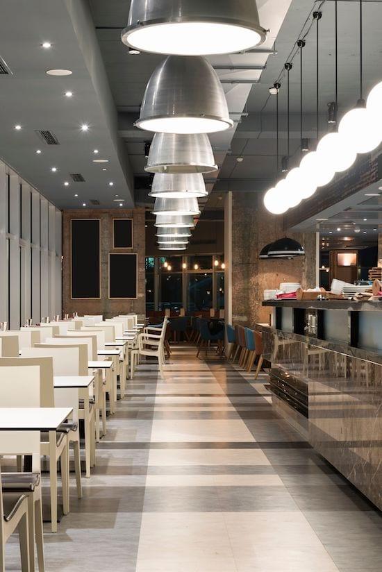 commercial lighting design - Glasgow & Edinburgh - AFS Electrical Services