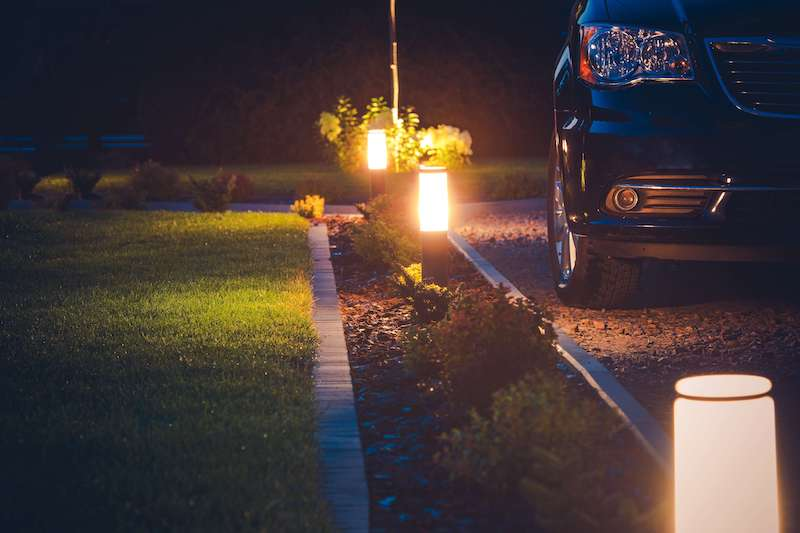 Driveway Lighting Glasgow - AFS Electrical Services
