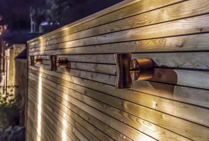 garden wall lights Glasgow