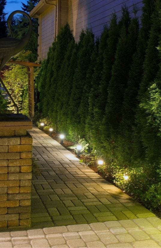 path lighting Glasgow - AFS Electrical Services