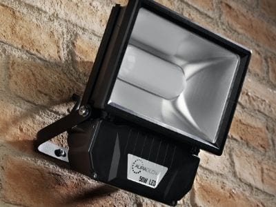 security motion sensor lights - AFS Electrical Services, Glasgow