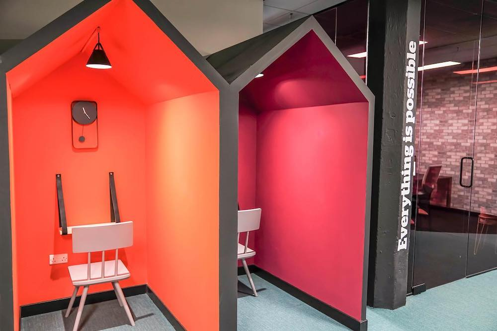 Office Workspace Pods Glasgow - AFS Electrical Services