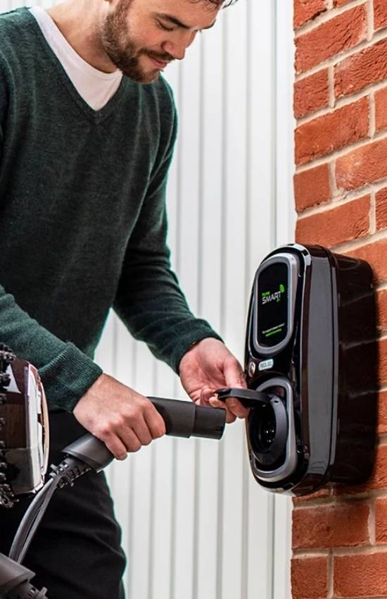 EV home charger installers Glasgow - Rolec - AFS Electrical Services