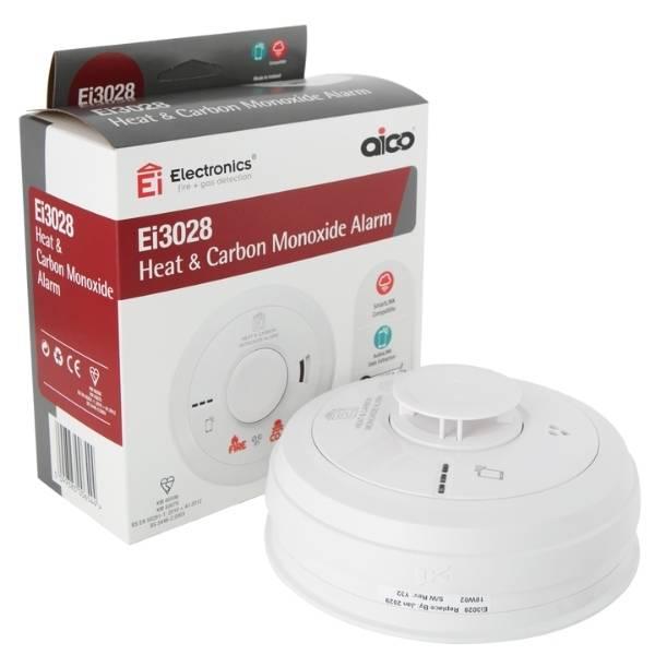 AICO Heat & Carbon Monoxide Alarm - AFS Electrical Services - Glasgow